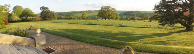 Described as one of the best views in Hertfordshire, looking over the Gade Valley