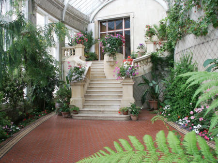 The Conservatory dates from 1872